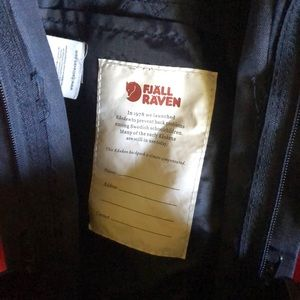 Fjallraven Accessories - Fjallraven Kanken Small Blue & Red Backpack